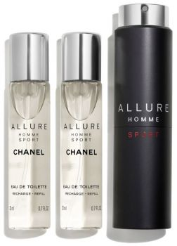 Eau de toilette Chanel Allure Homme Sport 3 x 20 ml